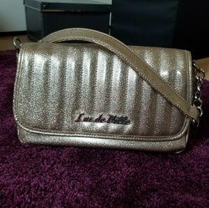 Lux deVille Mini Gambler bag- champagne